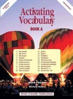Activating Vocabulary Book A (Elementary) - Mark Fletcher - 9781905231171