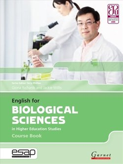 English for Biological Sciences in Higher Education Studies Course Book with Audio CDs (2) -  - 9781907575365