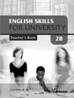 English Skills for University 2B Teacher's Book - Terry Phillips - 9781907575488