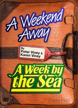 A Weekend Away & A Week By The Sea DVD - Peter Viney - 9781908103000