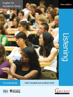 English for Academic Study (New Edition): Listening Course Book with Audio CDs & DVD - Colin Campbell - 9781908614339