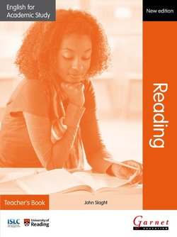 English for Academic Study (New Edition): Reading Teacher's Book - John Slaght - 9781908614384
