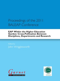 EAP Within the Higher Education Garden: Cross-Pollination Between Disciplines