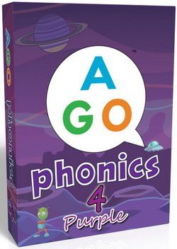 AGO Phonics Level 4 - Purple; A Fun EFL Card Game for Students Learning to Read - Butchers