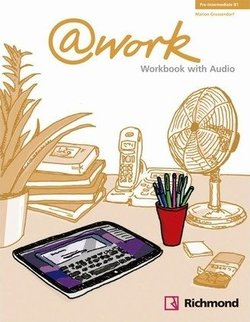 @work Pre-Intermediate Workbook with Audio CD - Louis Rogers - 9788466813716