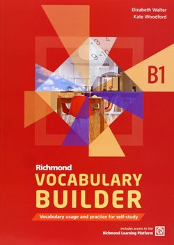 Richmond Vocabulary Builder B1 Student's Book without Answers with Internet Access Code - Elizabeth Walter - 9788466815260