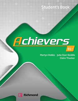 Achievers B1+ Student's Book -  - 9788466829137