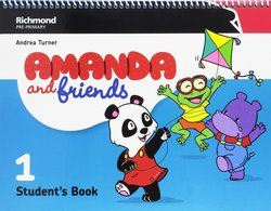 Amanda and Friends 1 Student's Book Pack -  - 9788466829250