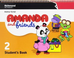 Amanda and Friends 2 Student's Book Pack -  - 9788466829274