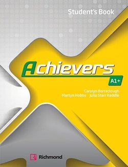 Achievers A1+ Student's Book -  - 9788466829434