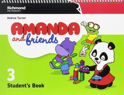 Amanda and Friends 3 Student's Book Pack -  - 9788466829700