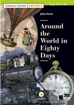 BCRT2 Around the World in 80 Days with Audio CD (Reading and Training - Life Skills) - Jane Cadwallader - 9788853016454