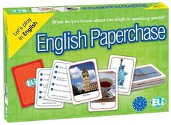 English Paperchase; What do you Know about the English Speaking World? (Card Game) - Davenport