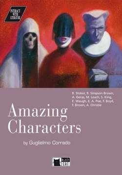 BCIL Amazing Characters Book with Audio CD - Collective - 9788877543752