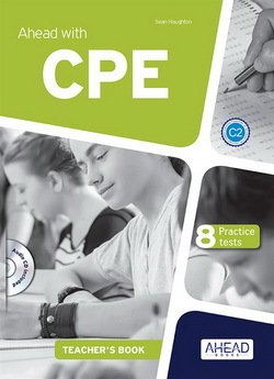 Ahead with CPE 8 Practice Tests Teacher's Book with MP3 Audio CD -  - 9788898433698