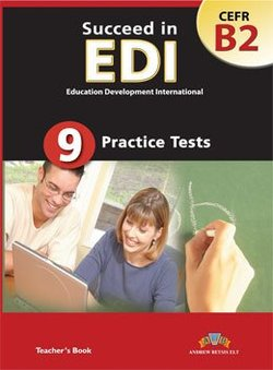 Succeed in EDI B2 (JETSET 5) Practice Tests Teacher's Book -  - 9789604133901