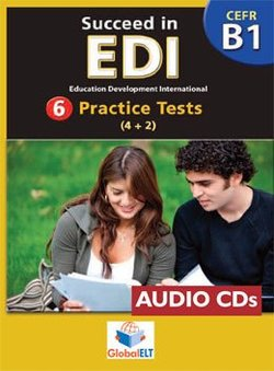 Succeed in EDI B1 (JETSET 4) Practice Tests Audio CDs -  - 9789604134151