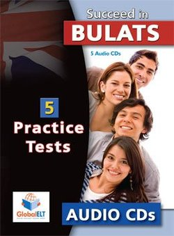 Succeed in BULATS 5 Practice Tests Audio CDs (5) -  - 9789604134588