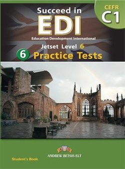 Succeed in EDI C1 (JETSET 6) Practice Tests Student's Book -  - 9789604134861