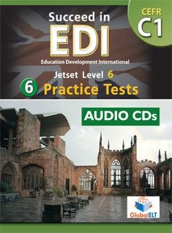 Succeed in EDI C1 (JETSET 6) Practice Tests Audio CDs -  - 9789604135042