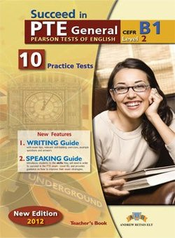 Succeed in PTE General Level 2 (B1) 10 Practice Tests Teacher's Book -  - 9789604135349