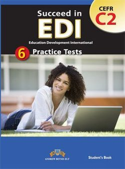 Succeed in EDI C2 (JETSET 7) Practice Tests Student's Book -  - 9789604135394