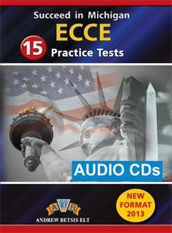 Succeed in Michigan ECCE - 15 Practice Tests Audio CDs (All 15 Tests) -  - 9789604135448