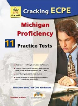 Cracking the Michigan ECPE - 11 Practice Tests Student's Book -  - 9789604135486