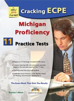 Cracking the Michigan ECPE - 11 Practice Tests Teacher's Book -  - 9789604135493