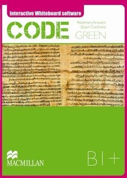 Code Green B1+ Interactive Whiteboard Software (IWB) - Rose Aravanis - 9789604472970