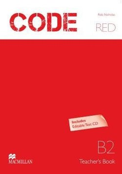 Code Red B2 Teacher's Book with Test CD-ROM -  - 9789604473151