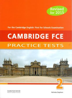 Cambridge FCE for Schools (FCE4S) Practice Tests 2 Student's Book -  - 9789963721917