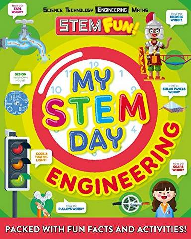 My STEM Day - Engineering: Packed with fun facts and activities! - Nancy Dickmann - 9781783124312