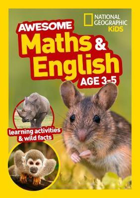 Awesome Maths and English Age 3-5 - National Geographic Kids - 9780008388799
