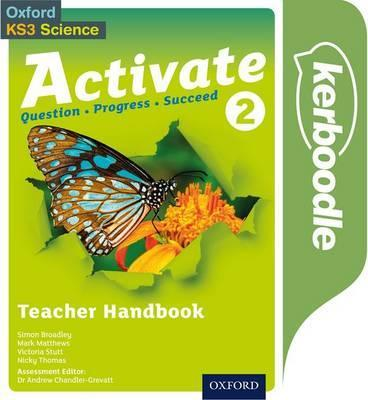 Activate 2: Kerboodle Teacher Handbook - Simon Broadley - 9780198332701