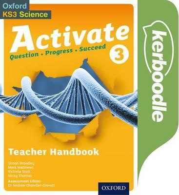 Activate 3: Kerboodle Teacher Handbook - Simon Broadley - 9780198332718
