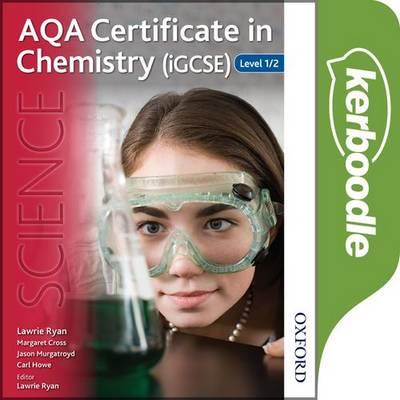 AQA Certificate in Chemistry (iGCSE) Kerboodle Book -  - 9780198352396