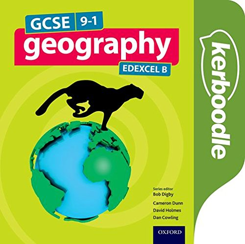 GCSE Geography Edexcel B Kerboodle Resources and Assessment - Bob Digby - 9780198366584