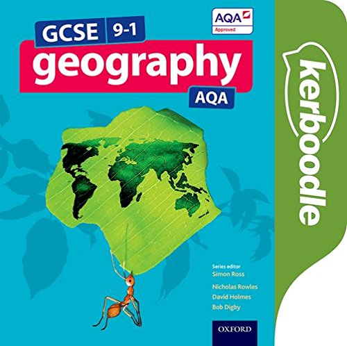 GCSE Geography AQA Kerboodle Student Book - Simon Ross - 9780198366638