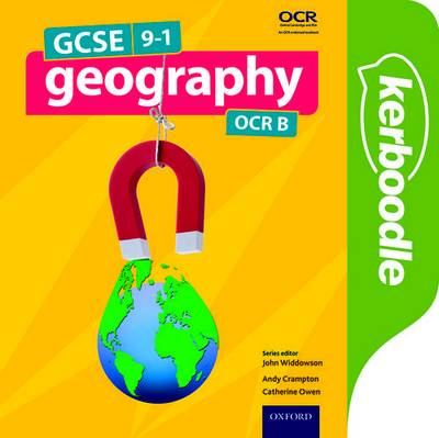 GCSE Geography OCR B Kerboodle Student Book - John Widdowson - 9780198366676