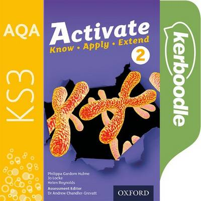 AQA Activate for KS3 2: Kerboodle Student Book - Philippa Gardom Hulme - 9780198408314