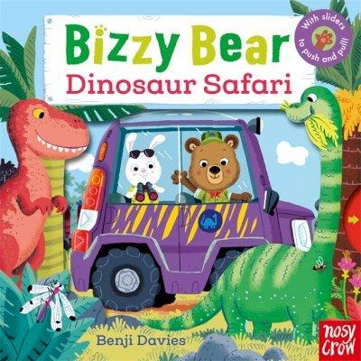Bizzy Bear: Dinosaur Safari - Nosy Crow - 9780857633804