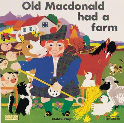 Classic Books with Holes Board Book: Old Macdonald had a Farm - Pam Adams - 9780859536622
