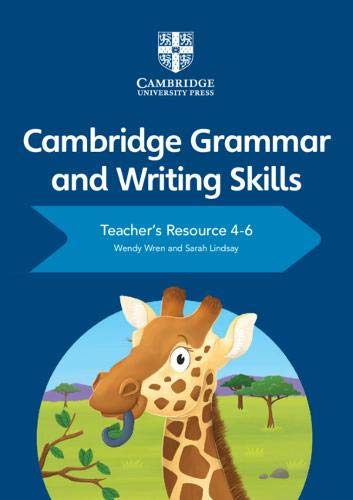 Cambridge Grammar and Writing Skills Teacher's Resource with Cambridge Elevate 4-6 - Wendy Wren - 9781108765473