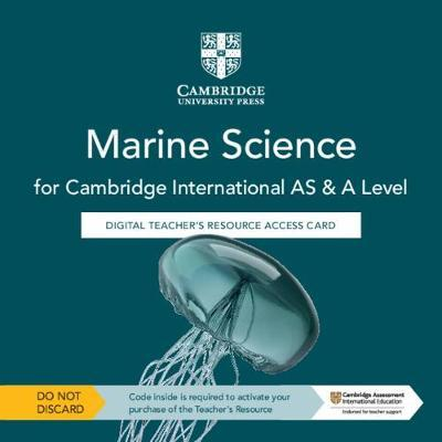 Cambridge International AS & A Level Marine Science Digital Teacher's Resource Access Card - Claire Brown - 9781108795944