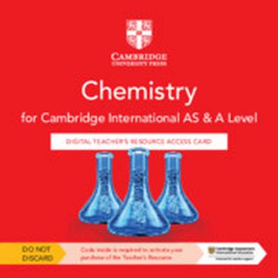 Cambridge International AS & A Level Chemistry Digital Teacher's Resource Access Card - Mike Wooster - 9781108796590