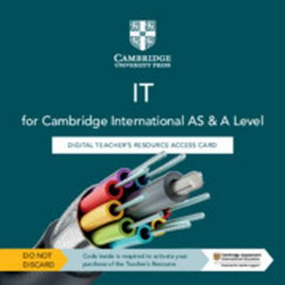Cambridge International AS & A Level IT Digital Teacher's Resource Access Card - Victoria Ellis - 9781108812160
