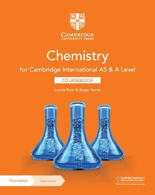 Cambridge International AS & A Level Chemistry Coursebook with Digital Access (2 Years) - Lawrie Ryan - 9781108863193