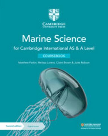 Cambridge International AS & A Level Marine Science Coursebook with Digital Access (2 Years) - Matthew Parkin - 9781108866064