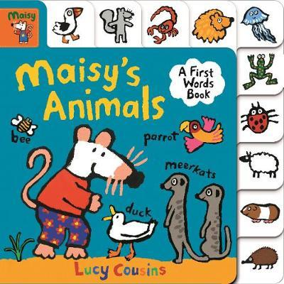 Maisy's Animals: A First Words Book - Lucy Cousins - 9781406387490